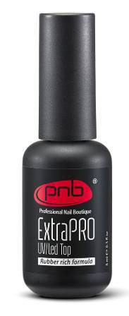 Закрепитель PNB UV/LED ExtraPRO Top Rubber rich formula, 8 мл