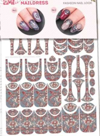 Naildress E.MI Slider Design Жаккард
