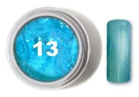 "Цветной гель № 13 METALLIC COLLECTION Ocean Blue 5 мл ""Gelliant"""