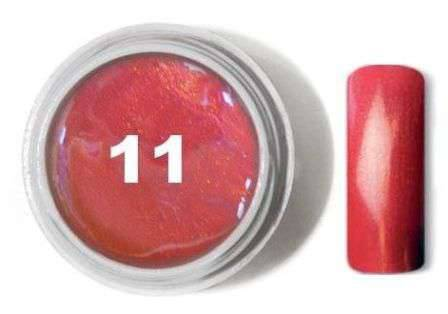 "Цветной гель № 11 METALLIC COLLECTION Strawberry 5 мл ""Gelliant"""