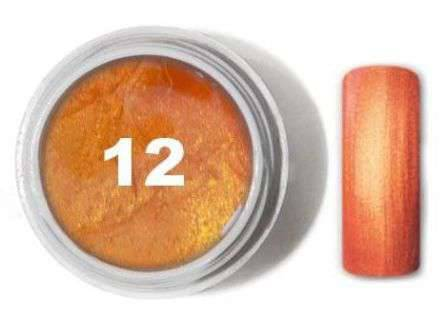 "Цветной гель № 12 METALLIC COLLECTION Golden Orange 5 мл ""Gelliant"""