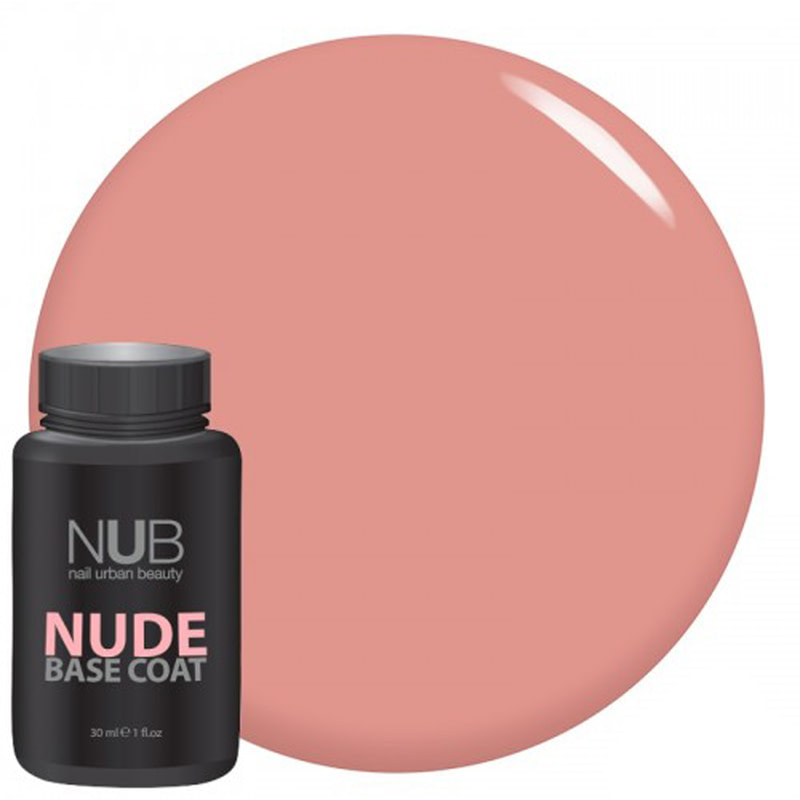 NUB nude base coat база каучук №01 30 мл