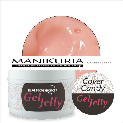 Гель-желе Real Professional Gel-Jelly Cover Candy, 50 г