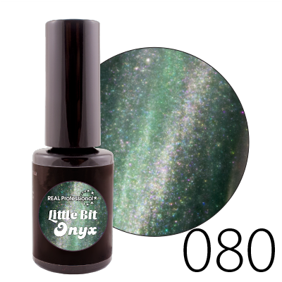 Гель-лак Real Professional Little Bit Onyx №80, 15 мл
